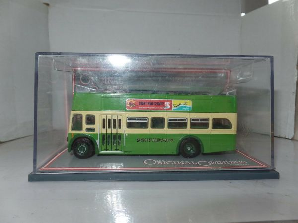 Corgi OOC 42001 Leyland PD3 Queen Mary  Bus Southdown Open Top Arundel 1 Mirror - 263554994579
